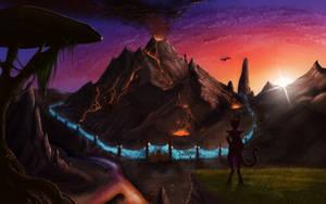Adanji At Red Mountain by MTibbs-89