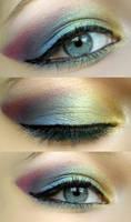 Rainbow eyes by Owca2512