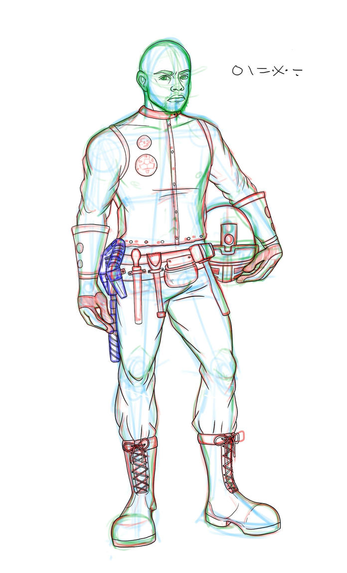 Onewa :: Sketch by ElisitaGayle