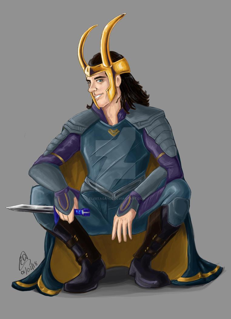 God Of Mischief by ElisitaGayle