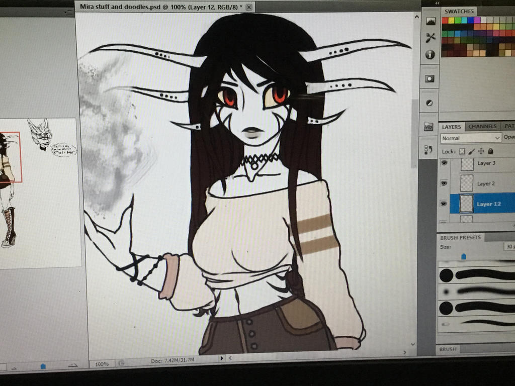 :Magelet (W.I.P. 5): by MiralynnMage