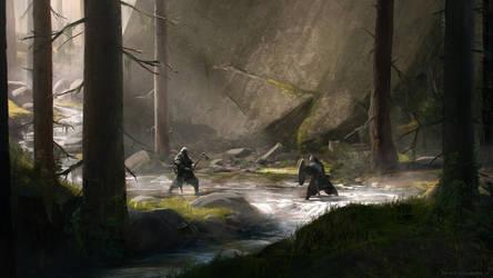 Duel by korpehn
