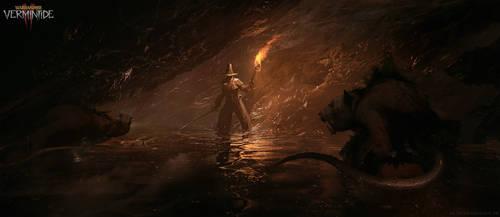 Warhammer: Vermintide 2 - Hunger in the dark by korpehn