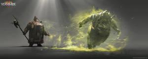 Warhammer: Vermintide 2 - Plague Wave VFX Concept