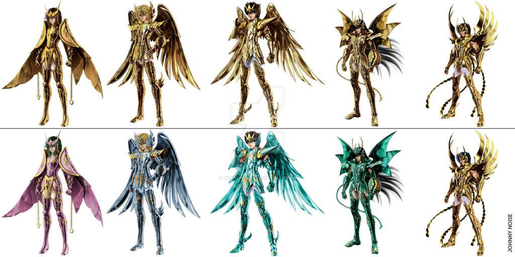 Saint Seiya Online God Cloths Edit By Johnnynoise On