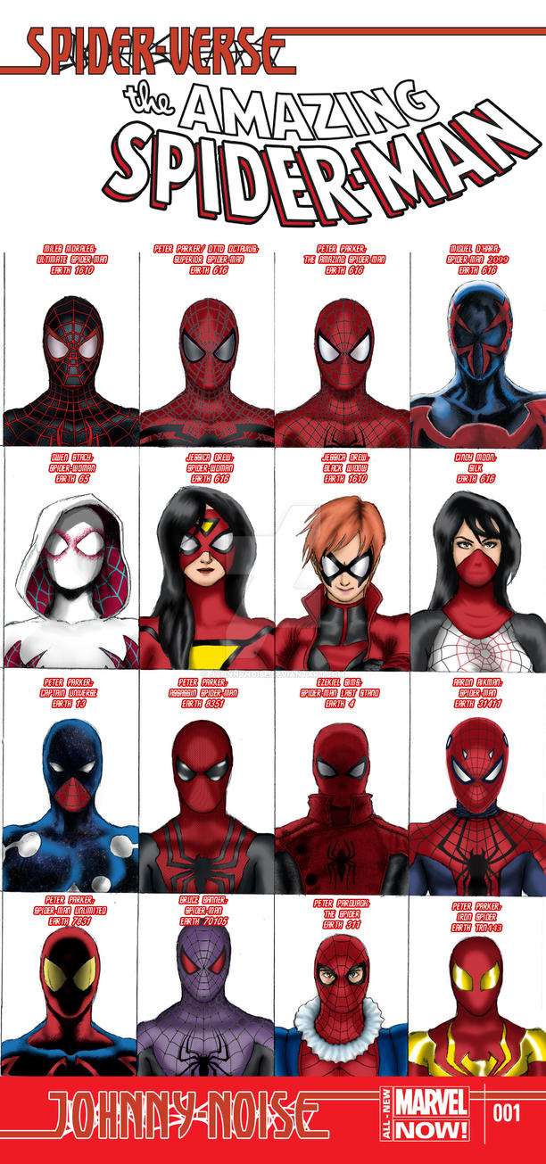 spiderverse variant cover 1 dofp tribute by