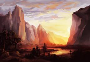Yosemite by luneu