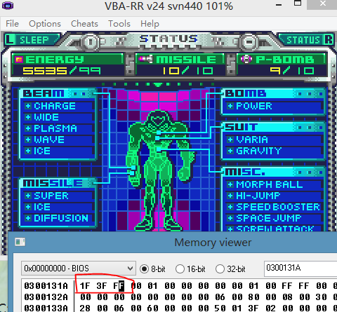 Metroid Fusion Hack The 7 District 06 [Unfinished] by nnmushroom on