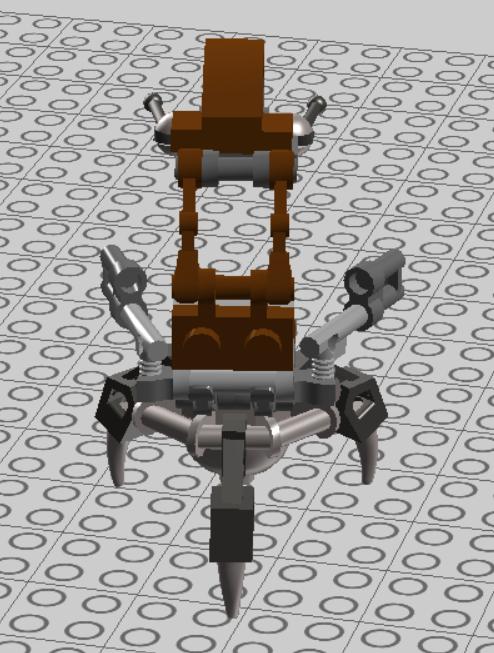 LEGO Starwars Droideka Design 03 by nnmushroom