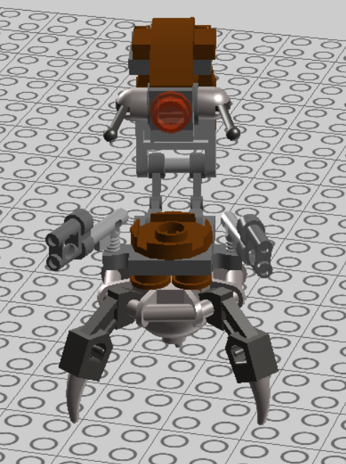 LEGO Starwars Droideka Design 04 by nnmushroom
