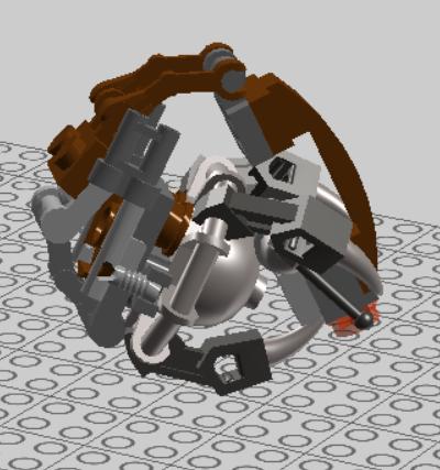 LEGO Starwars Droideka Design 05 by nnmushroom