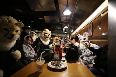 The meeting of China Furry in Peking by nnmushroom