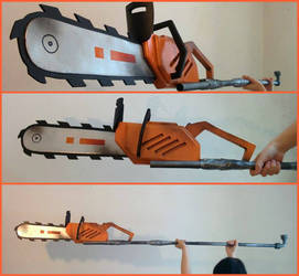 Pantheon Slayer Chainsaw - League of Legends by Tinkerer-Works