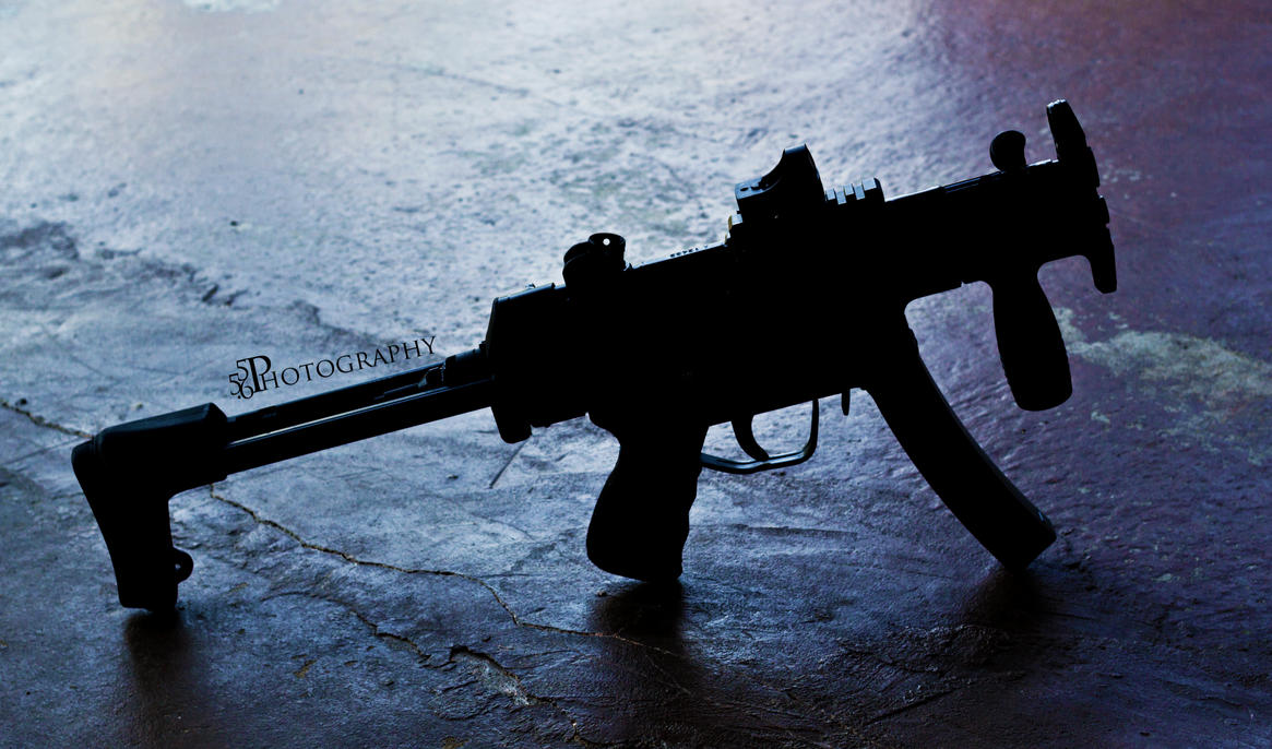Mp5k silhouette by pringle753