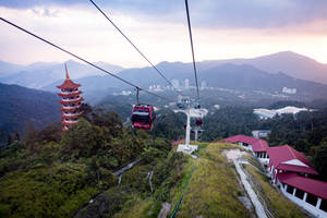 Genting Highlands Cable Car by art-nattanon