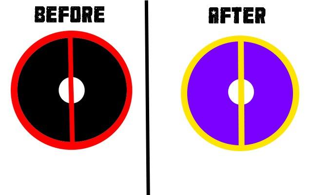 Custom Deadpool Symbol By Qaydev On Deviantart