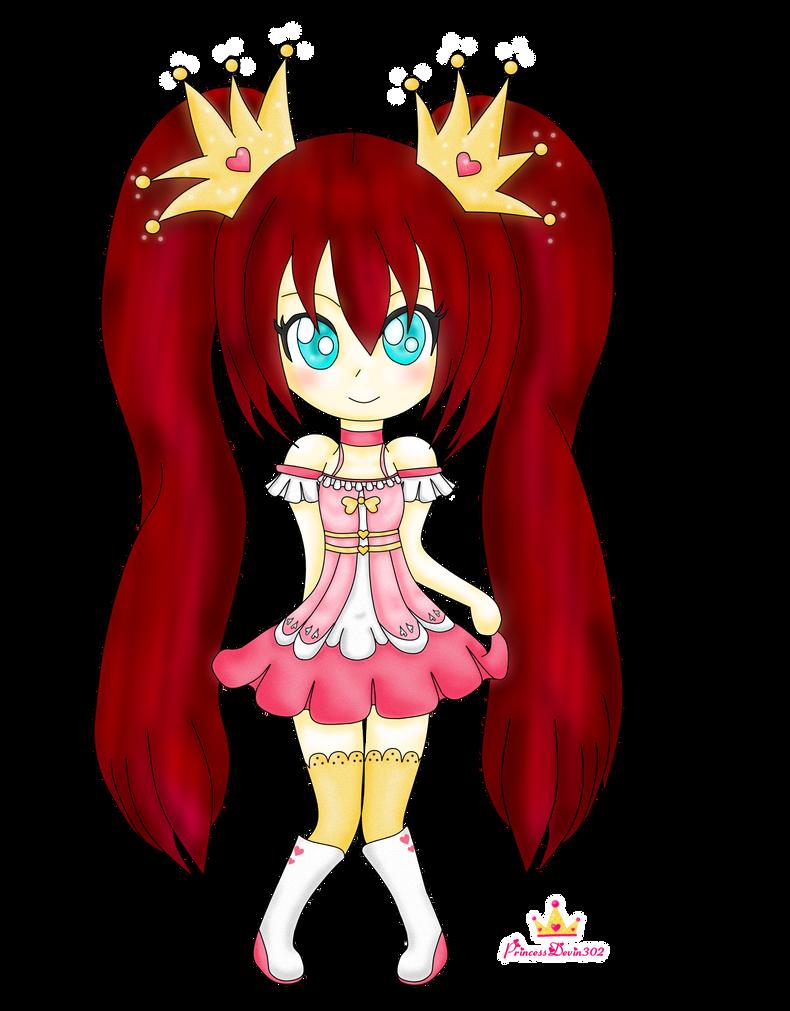 Princess Devin Chibi by PrincessDevin302
