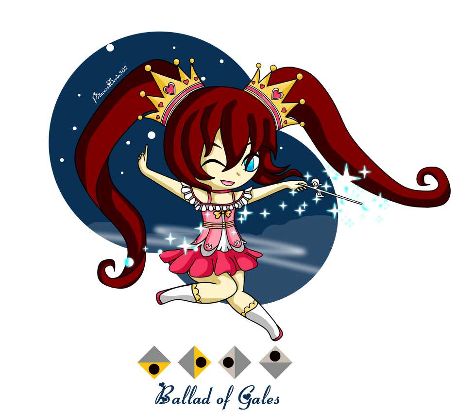 Princess of the Cyclones - Zelda Wind Waker Style by PrincessDevin302