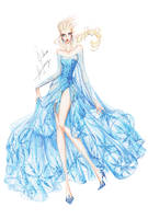 Collection Chiffon Elsa by frozen-winter-prince