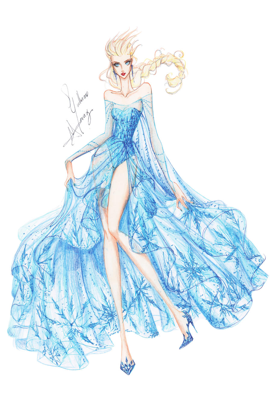 Collection Chiffon Elsa By Frozen Winter Prince On Deviantart