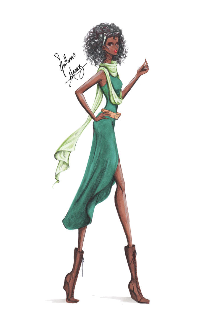 Tiana, from Disney Chickz by frozen-winter-prince on ...