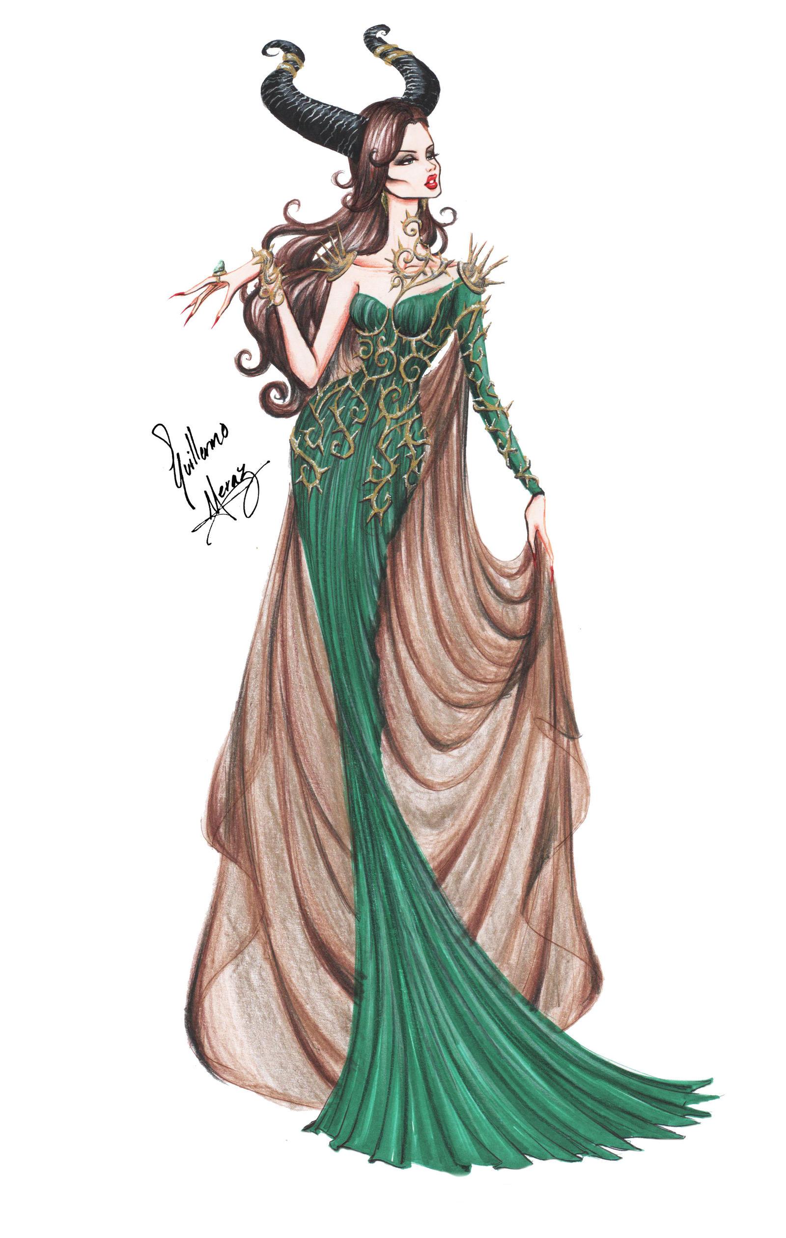 Maleficents Beginning By Frozen winter prince On DeviantArt