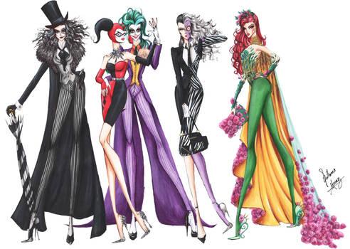 Batman Villains Fashion Collection