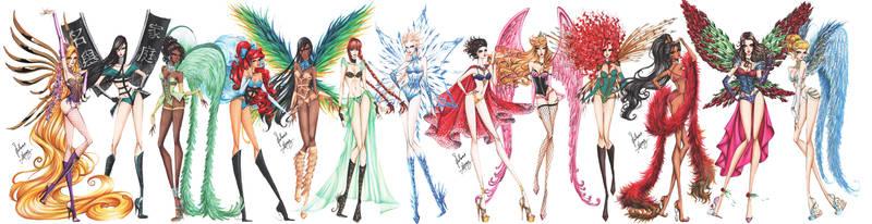 Disney Princesses go Victoria's Secret