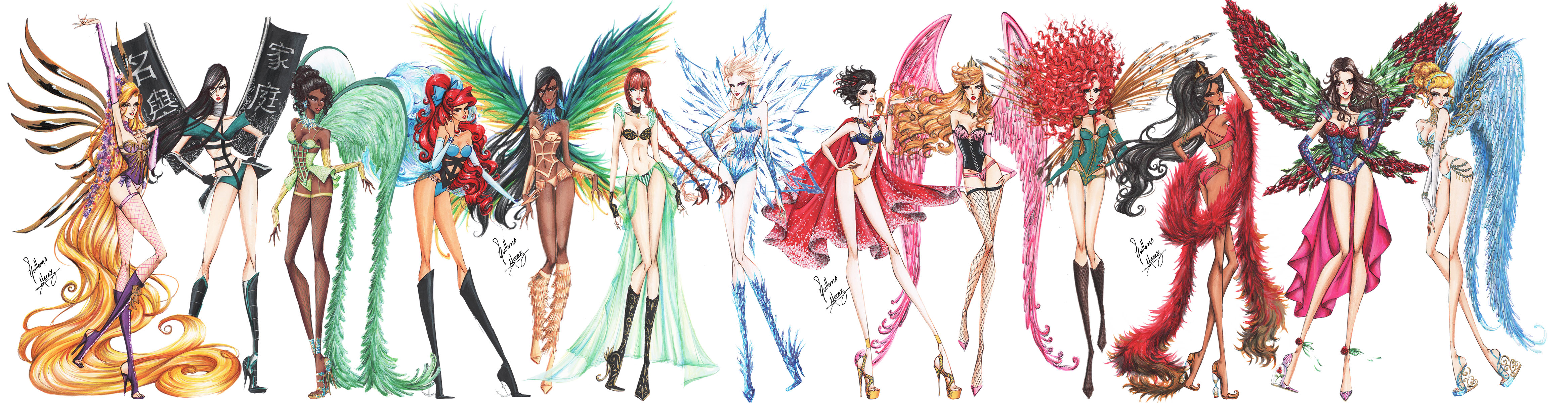 Disney Princesses Go Victorias Secret By Frozen winter prince On DeviantArt