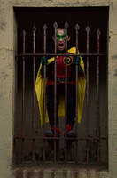 Robin in a Cage by FloresFabrications