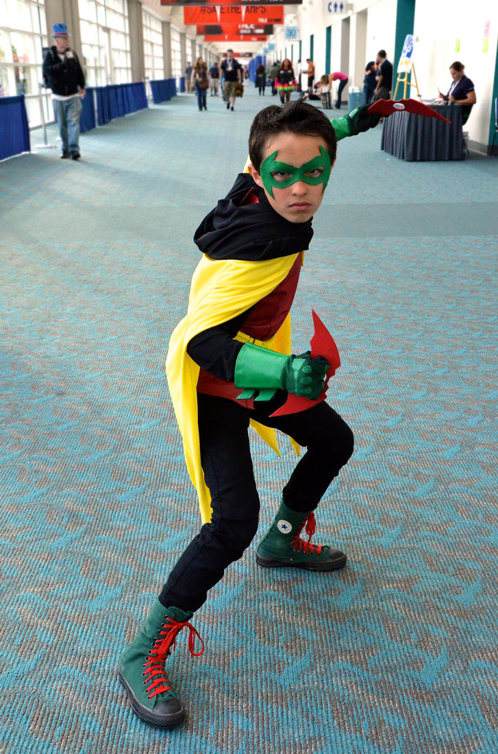 Robin: Protector of SDCC by FloresFabrications