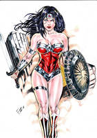 Wonder Woman by Franklima
