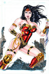 Wonder Woman by Franklima