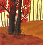 Autumn Tree's by GintaJau