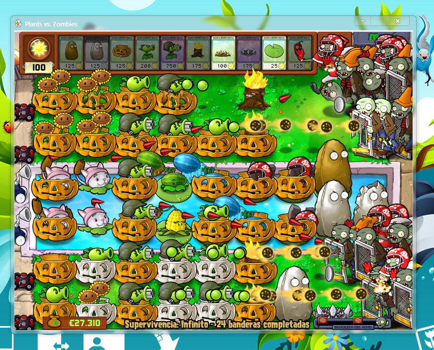 Walnut from plants vs zombies