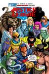 Hanna Barbera Justice  League International Cover