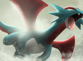 Salamence by All0412