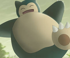 Snorlax by All0412