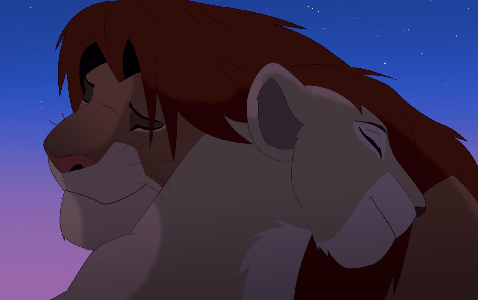 Simba and Nala by All0412 on DeviantArt