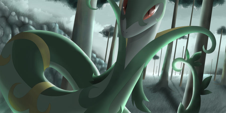 Serperior Pokemon Wallpaper | www.imgkid.com - The Image ...