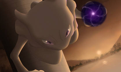 Mewtwo by All0412