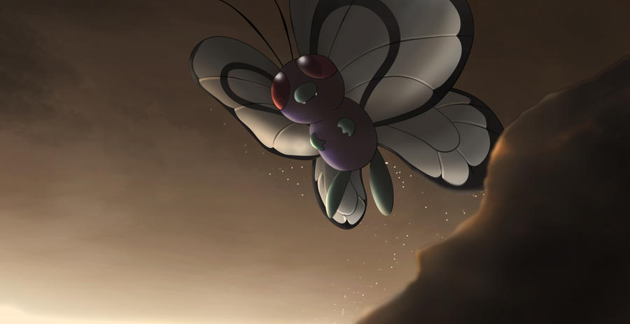 Evana's adventure records Butterfree_by_all0412-d6pcrwd