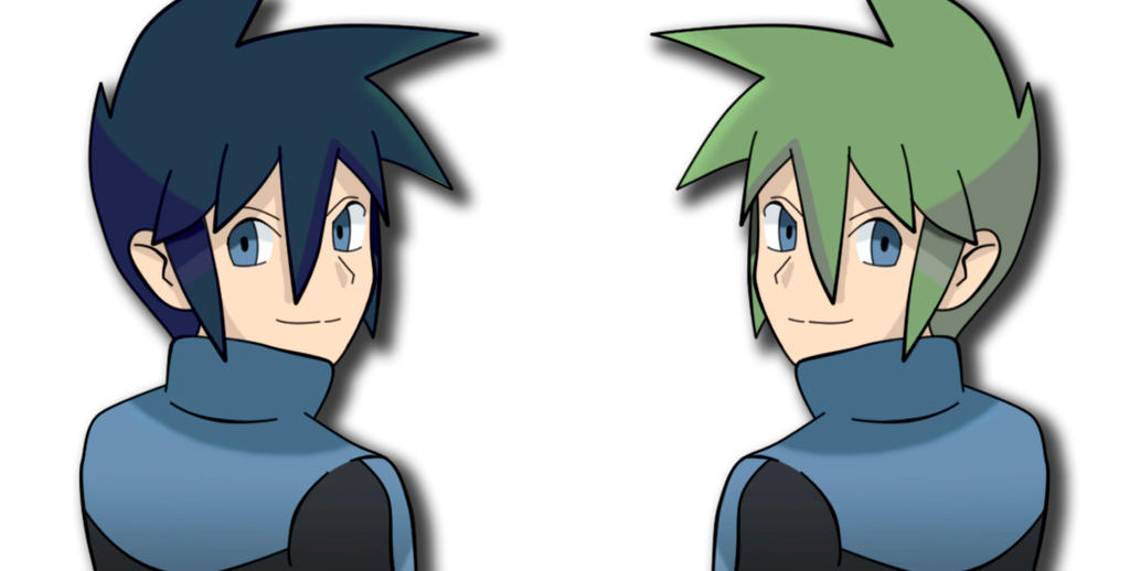 Blue or Green? by All0412