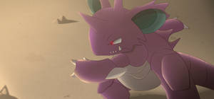 Nidoking by All0412