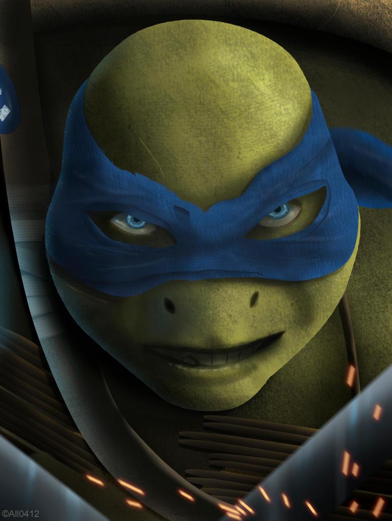TMNT: Leonardo by All0412