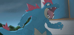 Gift: Feraligatr by All0412