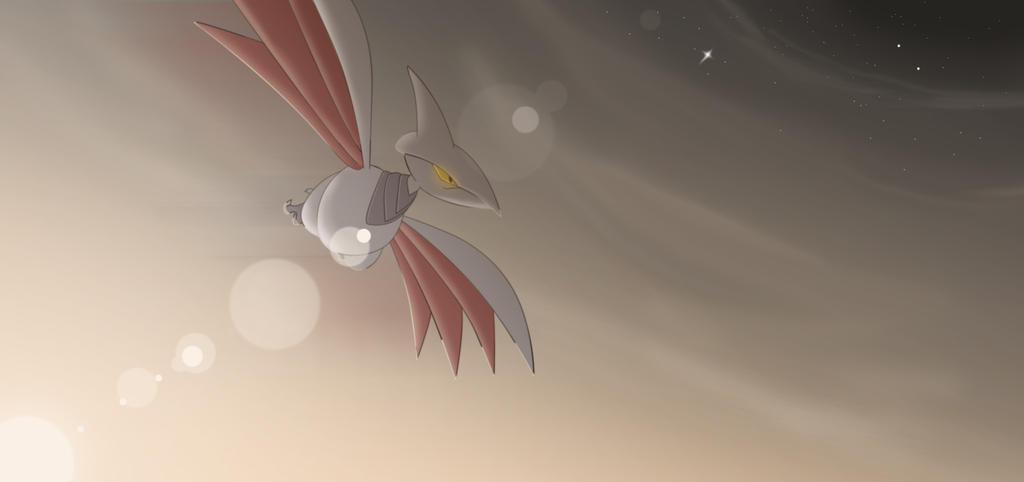 superskarmory productions images Skarmory &amp- Mightyena wallpaper ...