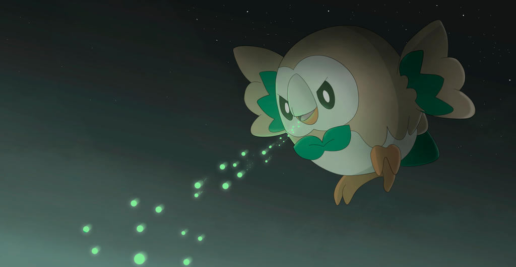 Rowlet By All0412 On Deviantart