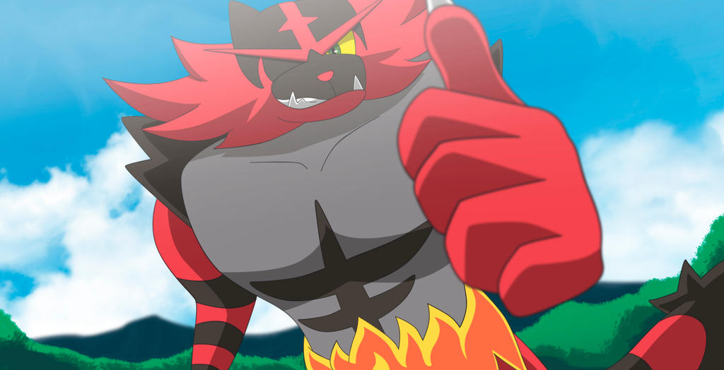Commission: Incineroar!!! by All0412