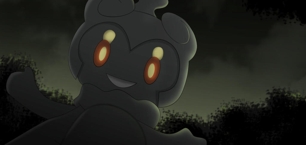 Commission Marshadow By All0412 On Deviantart